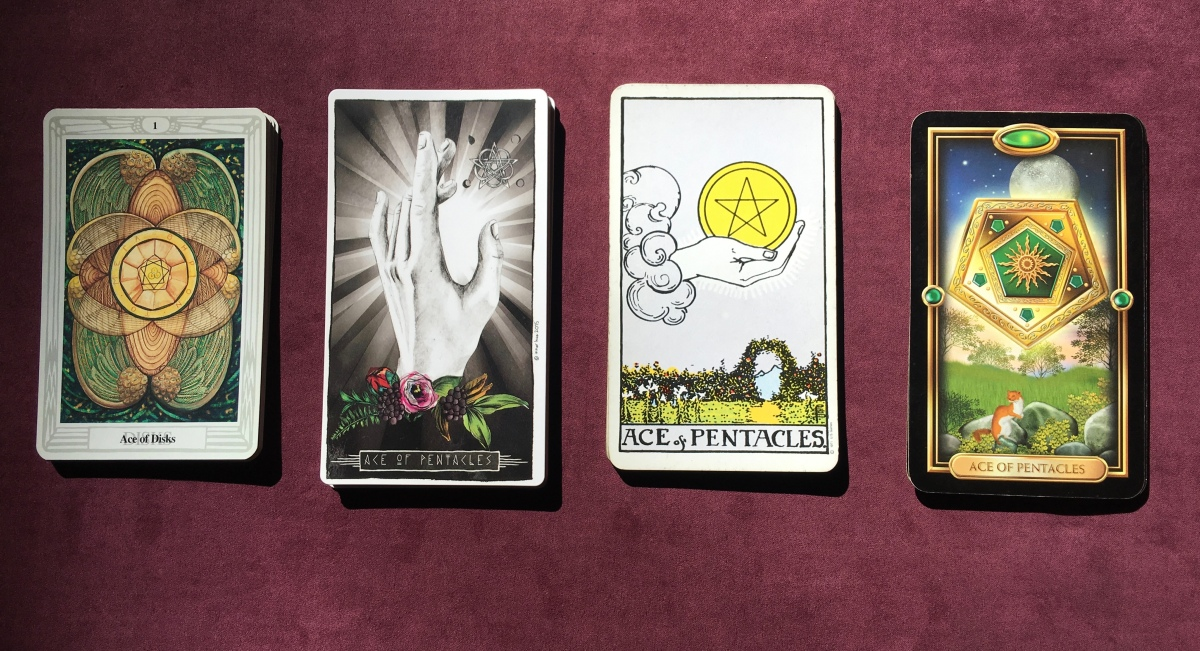 Astrology and Tarot Series #2: The Suit of Coins and their