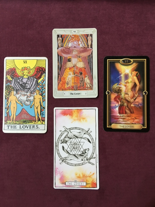 "The Lovers"" – A Tarot Interpretation – The Mystic Rose Tarot"